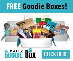Get Your Free Goodie Box. It's more than just Free Samples! Daily Goodie Box will send you a box of free goodies and all you have to do is let them know what you think. Shipping is Free. No credit card required EVER!