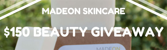 Click Here for your chance to win a $150 MadeOn Skin Care gift certificate from Pale Epic