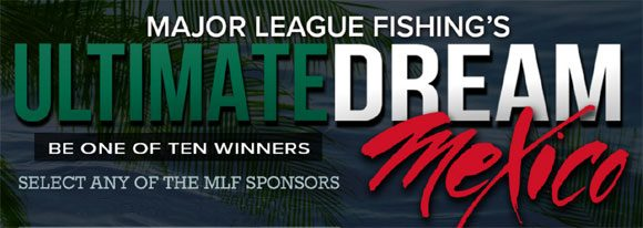 Do you have what it takes to fish with professional bass fishermen? If so, enter Major League Fishing's Ultimate Dream Mexico Sweepstakes and you could win a fishing trip of a lifetime.