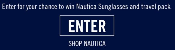 VSP Vision Care is giving away 15 pairs of Nautica sunglasses in their Sail Into Spring Giveaway. Enter now for your change to win