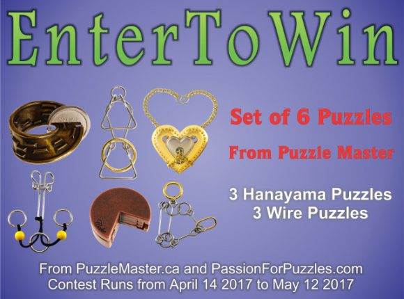 Puzzle Master / Passion for Puzzles Giveaway