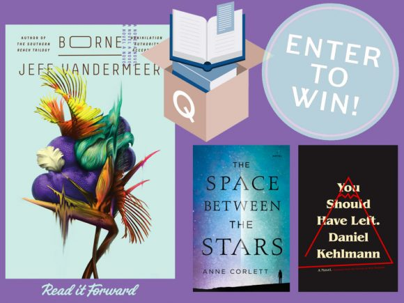 Read It Forward paired up with our friends at Quarterly Co. to give away 10 of their incredible literary subscription boxes, featuring the new novel by Jeff VanderMeer. And because they were so excited by his choices, they threw in two literary genre picks of their own!