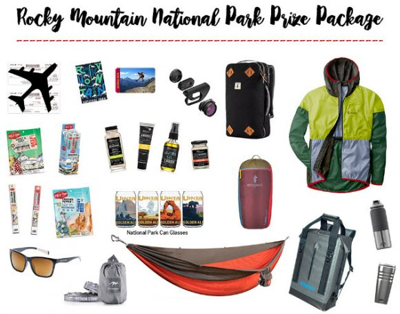 Enter for your chance to win one of nine Rocky Mountain Prize packs worth over $1,800 Get Out There: National Parks Sweepstakes