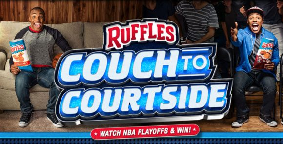 Ruffles Couch To Courtside Sweepstakes and Contest