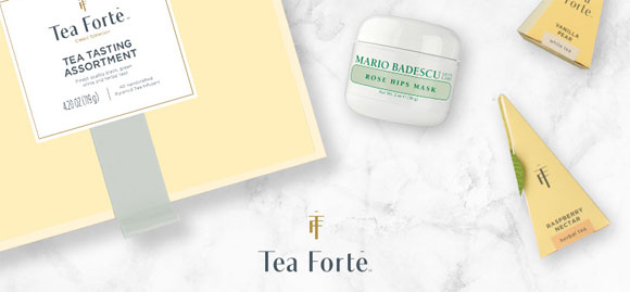 Make her Mother's Day with a Tea Forté Ultimate Gift Set for two, along with premium skincare favorites from Mario Bedescu. Five winners in all, offer ends May 1st, 2017. Valued over $380.