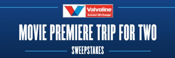 You could win two tickets and a trip to the official premiere of Transformers: The Last Knight or one of 5,000 First Prize limited edition ValvoTron action figures from Valvoline