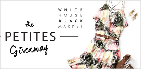 Seven days. Seven outfits. Enter the White House Black Market Petites Giveaway for a chance to win one of seven petite looks.