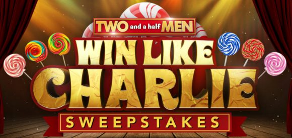 Two and a Half Men Win Like Charlie Sweepstakes Word of the Day