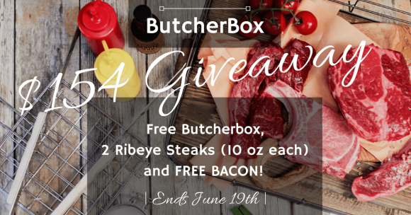 Paleo Epic's ButcherBox 100% Grass-Fed Beef Giveaway