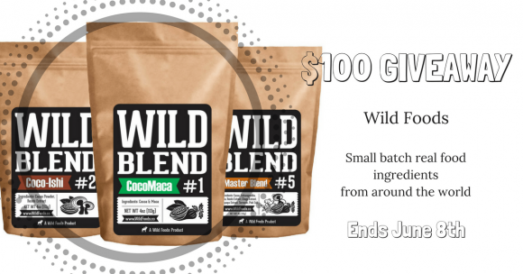 Enter for a chance to win a $100 Wild Foods gift certificate from Paleo Epic. Wild Foods specializes in small-batch Real Food ingredients from around the world.