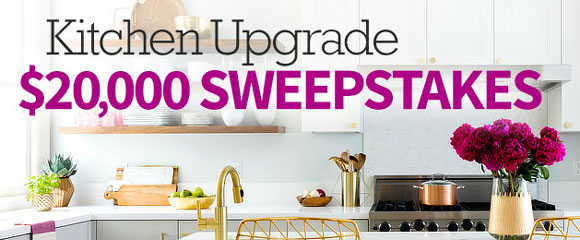 Enter for your chance to win $20,000 in cash from the All Recipes Kitchen Sweepstakes