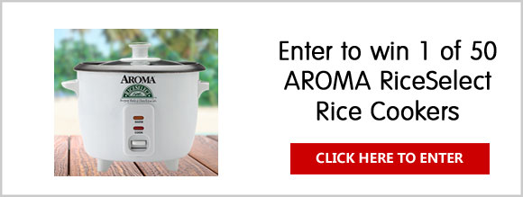 RiceSelect Memorial Day Cook-off Giveaway