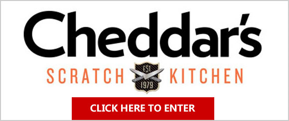 Click Here for your chance to win Cheddar's Scratch Kitchen Gift Card from Mommy Snippets.