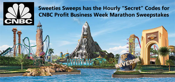 CNBC Profit Business Week Marathon Sweepstakes Hourly Codes