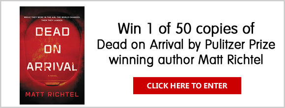 Enter for a chance to win 1 of 50 signed Advance Reader's copies of Dead on Arrival by Pulitzer Prize winning author Matt Richtel from HarperCollins