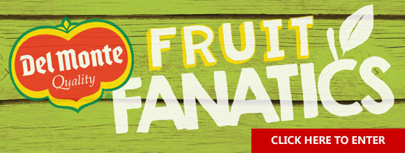 Enter the Del Monte Fresh Produce Fruit Fanatics Contest to win a trip to Costa Rica.