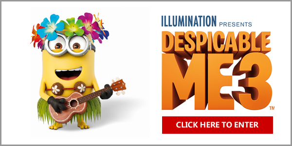 Enter for your chance to win a Despicable Me-themed trip to Kauai, Hawaii in celebration of Despicable Me 3, coming to theaters June 30th.