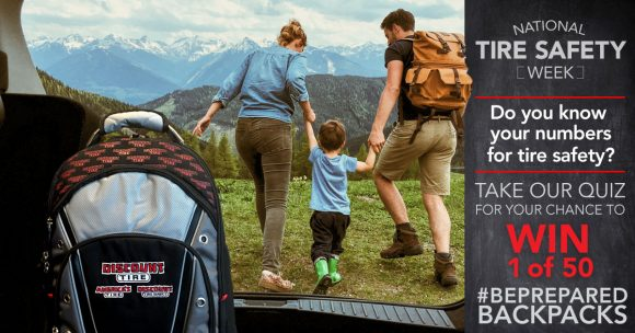 Discount Tire National Tire Safety Sweepstakes
