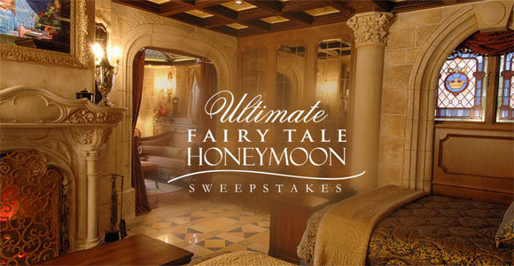 Win the ultimate trip to Walt Disney World Resort in Orlando, Florida to spend the night in Cinderella's Castle Suite. Enter Disney's Fairy Tale Weddings Sweepstakes for your chance to win. This is your chance to win a once in a lifetime experience!