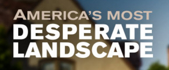 Enter the DIY Network America's Most Desperate Landscape Giveaway for your chance to win $50,000 in cash