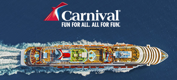 Get Away this Summer on a Carnival Cruise with Ellen! Ellen is giving away 4 cruises this summer.