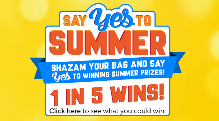 Frito-Lay Say Yes to Summer Instant Win Game