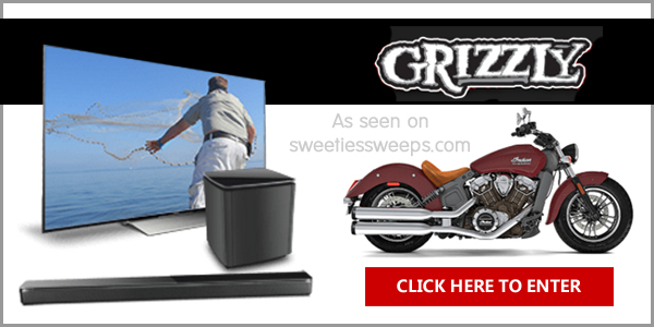 Enter for your chance to win Bose, Sony, Yeti, and Primo products and one grand prize winner will win a 2017 Indian Scout Motorcycle worth over $11,000 in the Grizzly Tellin' It Like It Is Giveaway