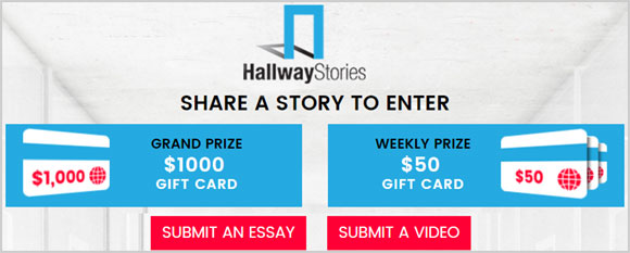 Hallway Stories Real-Life Story Sharing Contest