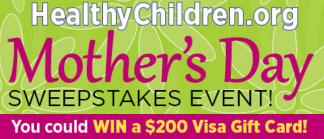 From May 1 through May 10, enter once each day to win a $200 Visa gift card. There will be 10 lucky winners in all.
