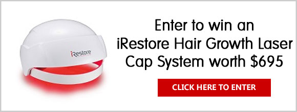Win an iRestore Hair Growth Laser Cap worth $695