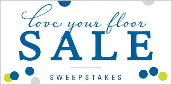 Enter Mohawk Flooring's #LoveyourFloor Sweepstakes for a chance to win $500 or $1,000 in cash!