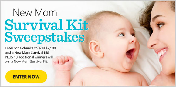 Parents New Mom Survival Kit Sweepstakes