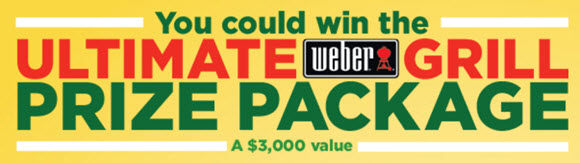 Share how you grill with NatureSweet Glorys tomoatoes for your chance to win The Ultimate WEBER Grill Prize Package