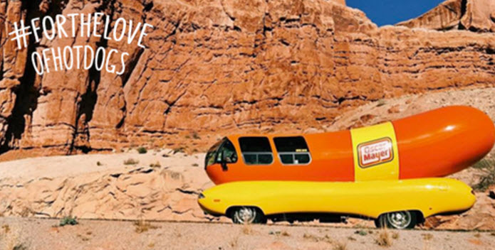 Oscar Mayer #FortheLoveofHotDogs Wienmobile Schedule