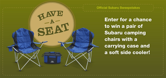 Furniture giveaways sweepstakes