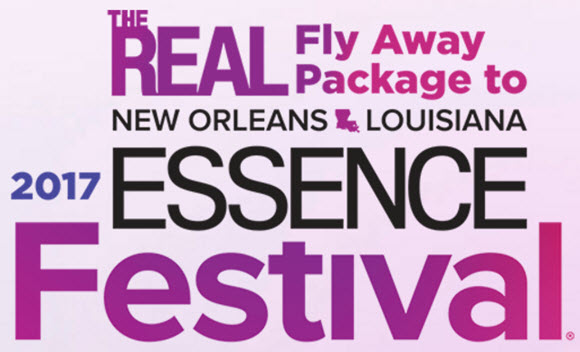 The Real Essence Festival Trip Sweepstakes