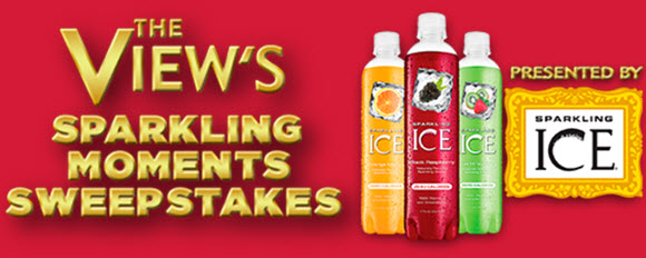 The View's Sparkling Moments $20K Sweepstakes