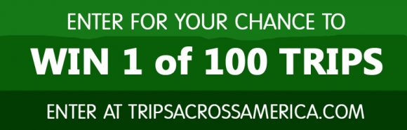 Enter to win 1 of 100 trips