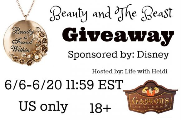 Exclusive Beauty and The Beast Giveaway