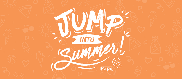All summer long, Purple and ZVRS will pick one lucky winner to WIN A FUN SUMMER PRIZE EACH WEEK!