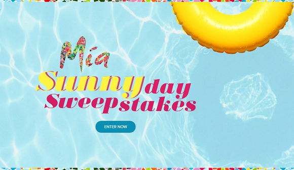 This summer Mía Moscato is giving you the chance to win everything you need for the perfect summer day. You could win a picnic set, portable speaker and customized glasses. And one Grand Prize Winner will walk away (or ride away) with all of these summer favorites, plus a beach cruiser bike.