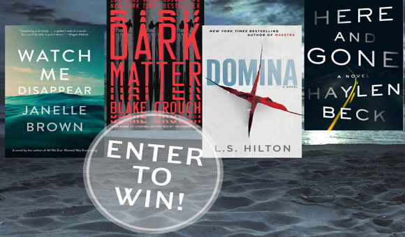 Enter for your chance to win 1 of 50 copies of 4 popular suspense books in theRead It Forward Summer of Suspense Book Giveaway