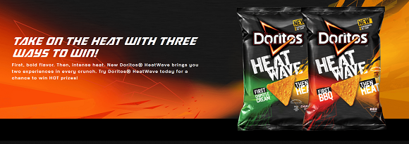 Doritos Heat Wave Instant Win Game Codes