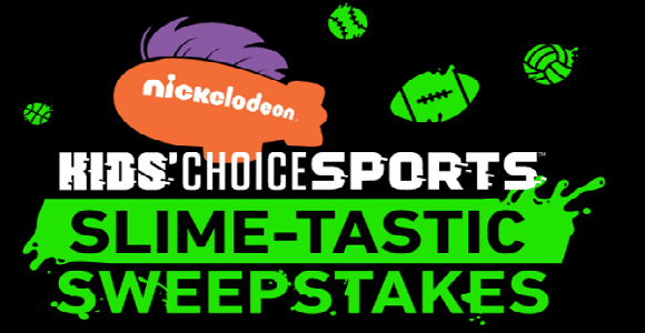 Do you want to go to the Kids Choice Sports in Los Angeles? Enter the Nickelodeon Kids Choice Sports Slime-tastic Sweepstakes for your chance to attend Kids' Choice Sports on July 13, 2017.