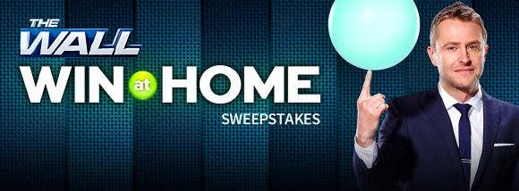 NBC is giving away $5,000 up to $25,000 in cash The Wall Win At Home Sweepstakes. Enter once a day to increase your chances of winning.