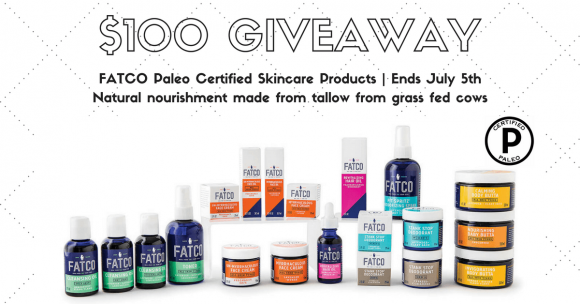 Click Here for your chance to win a $100 FATCO Gift Certificate from PaleoEpic.