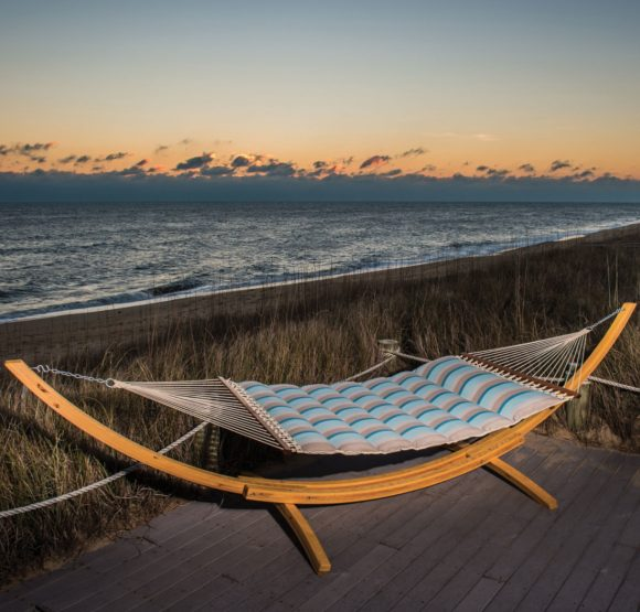 Enter for your chance to win aluxury pillowtop luxury Nags Head Hammock worth $330