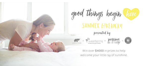 Monica and Andy are giving away $4,000 in prizes. We're willing to bet more than one of these mommy must-haves is on your wish list. Enter Today for the chance to take them all home.