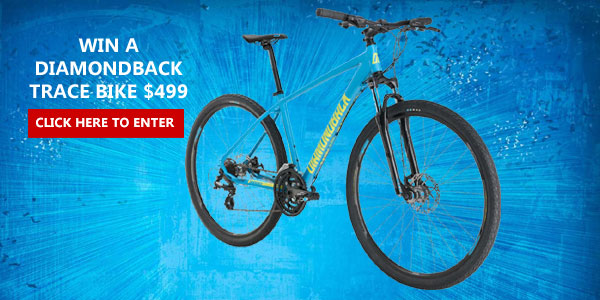 Mercury Magazine is giving away a Free Diamondback Trace Bike worth $499.00