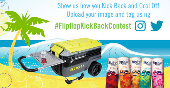 Flipflop Wines Kick Back and Cool Off Summer Contest